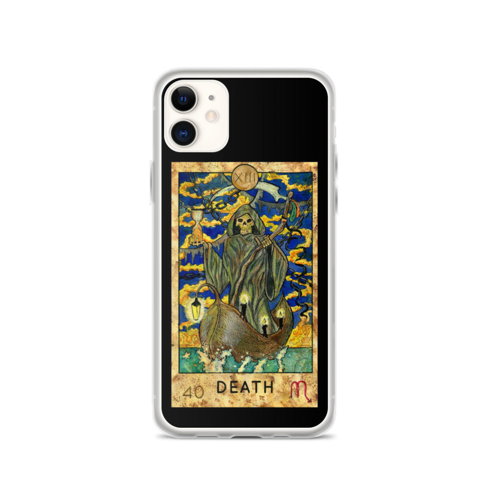 Death Card iPhone Case