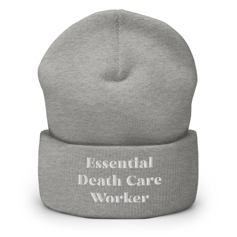 Essential Death Care Worker Cuffed Beanie