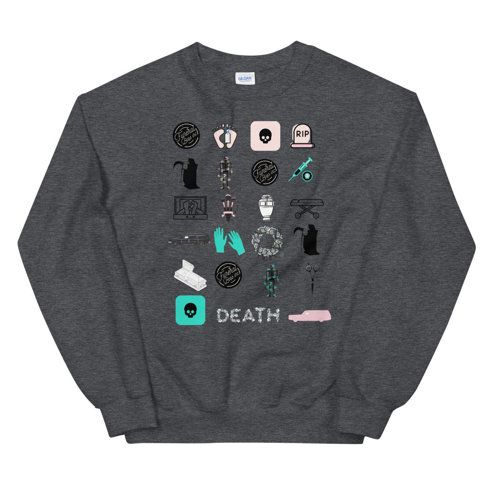 23 Death Icons Unisex Sweatshirt