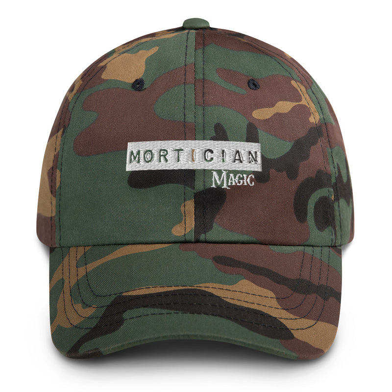 Mortician Magic Dad hat
