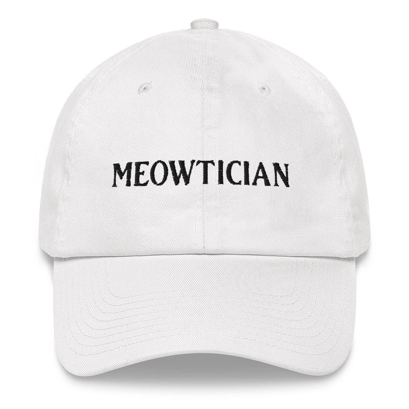 Meowtician Dad hat