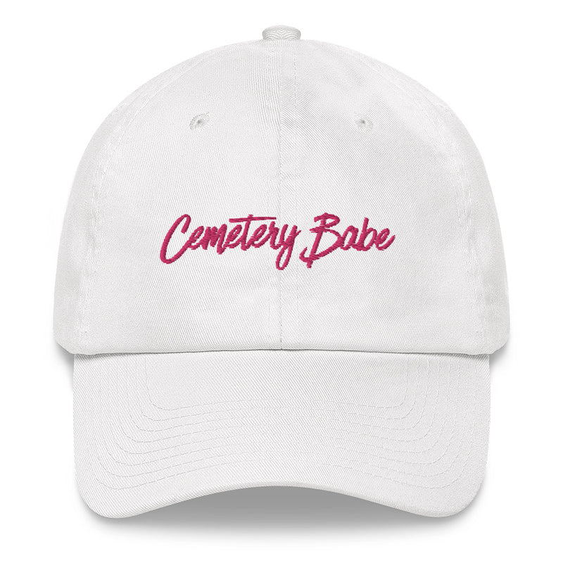 Cemetery Babe Dad hat