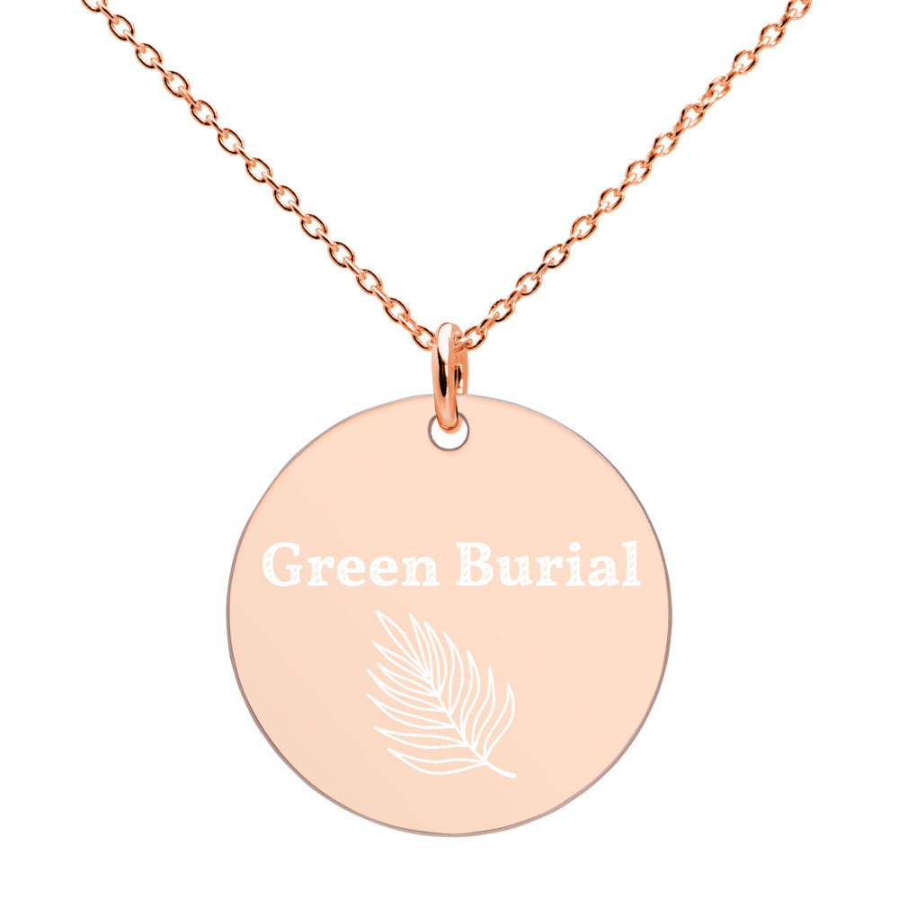 Green Burial Necklace