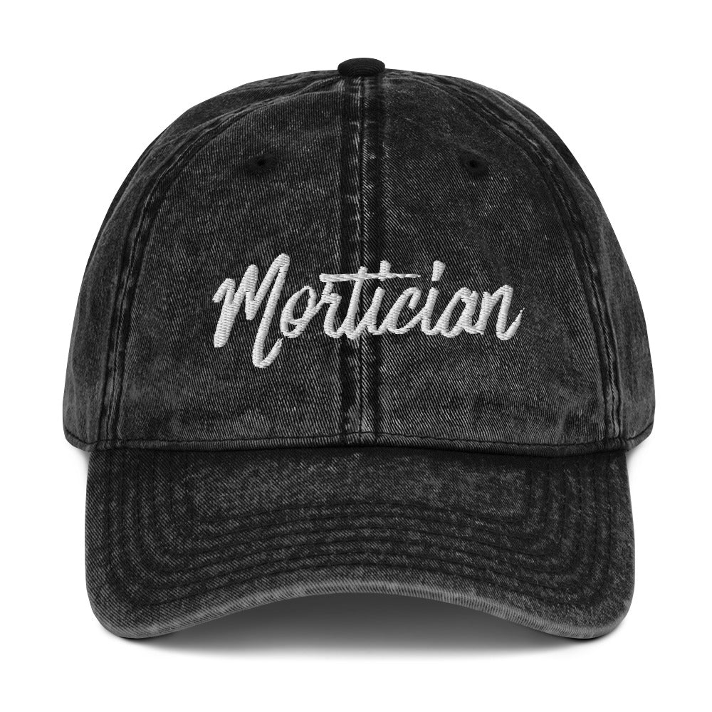 Mortician Vintage Cotton Twill Cap