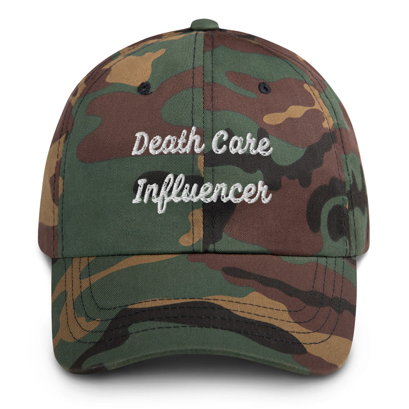 Death Care Influencer Dad hat