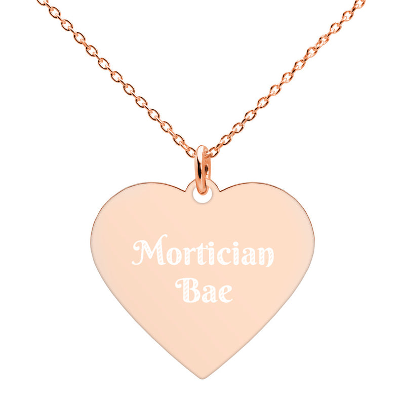 Mortician Bae Heart Necklace