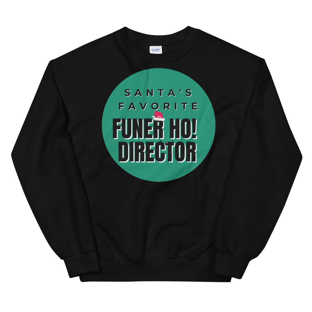 Santa's Favorite Funer Ho Director  Ugly Sweater