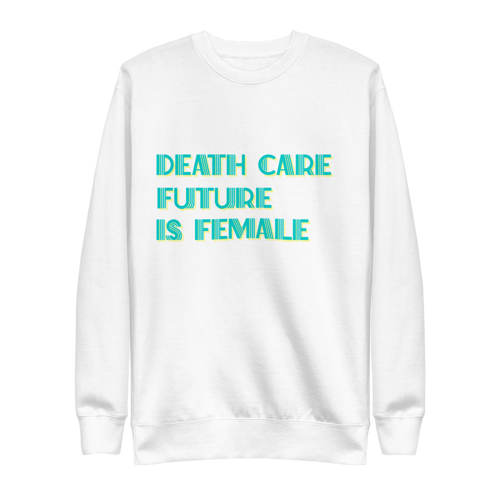 Death Care Future Unisex Fleece Pullover