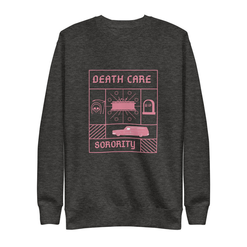 Death Care Sorority Unisex Fleece Pullover