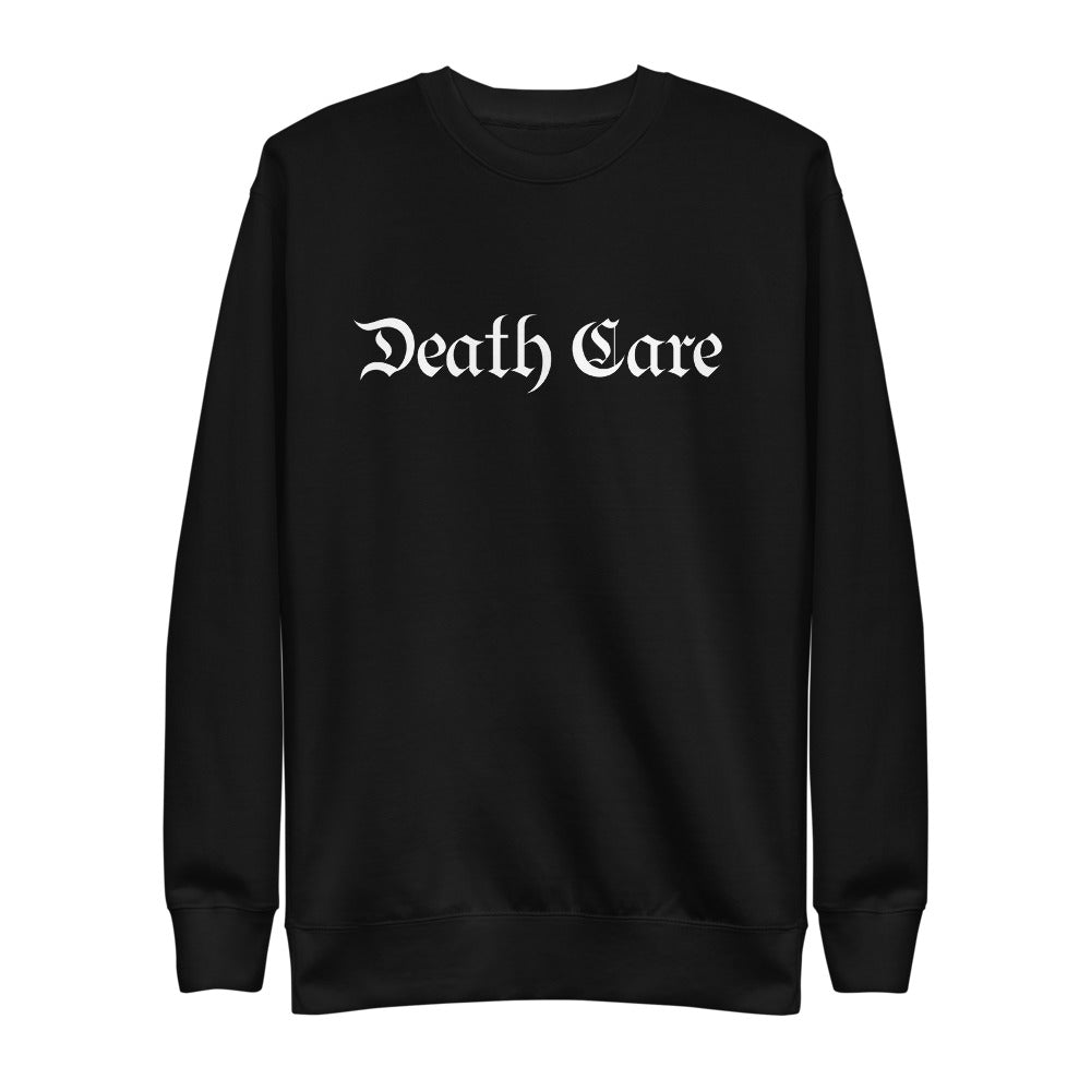 Death Care Unisex Fleece Pullover