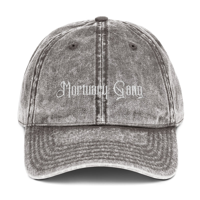 Mortuary Gang Vintage Cotton Twill Cap