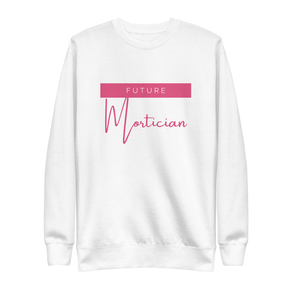 Future Mortician Unisex Fleece Pullover