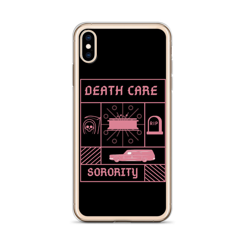 Death Care Sorority iPhone Case