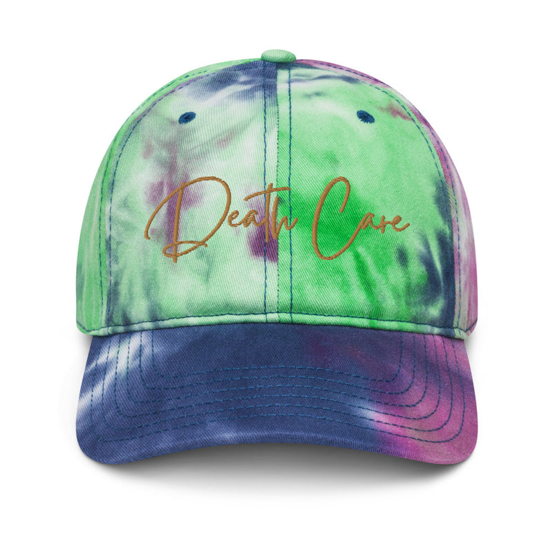 Death Care Tie dye hat