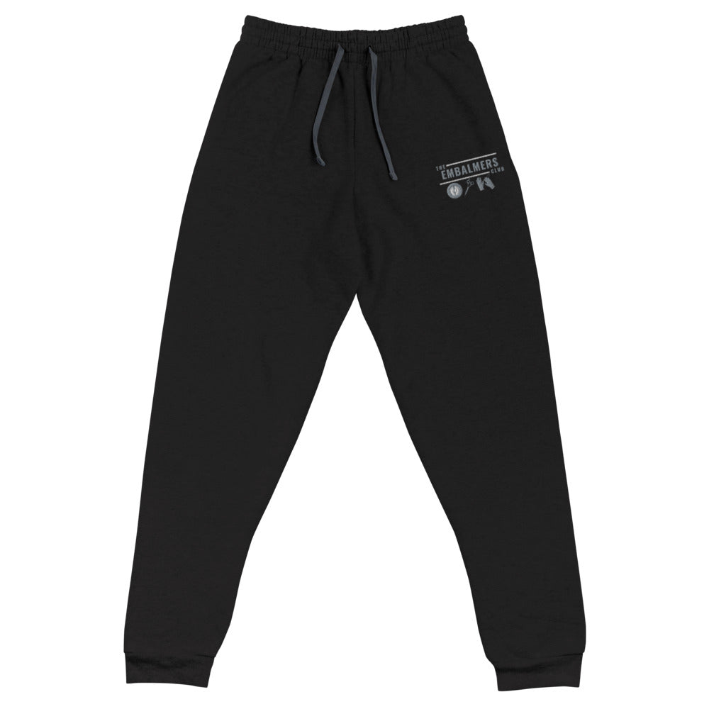 The Embalmers Club Unisex Joggers (Embroidered)