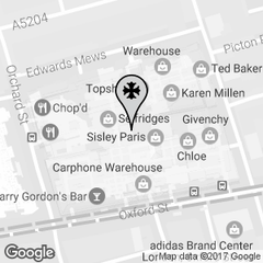 CHROME HEARTS MANCHESTER MAP
