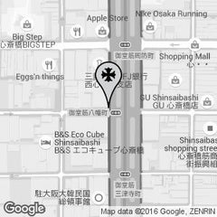 CHROME HEARTS JAPAN OSAKA SHINSAIBASHI MAP