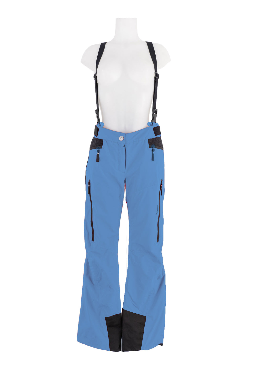 W's Wool Trousers with Schoeller® Wool Inserts | Blue Petrol