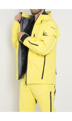 M's Gore-Tex® Shell with Swisswool Zip-In Jacket | Yellow