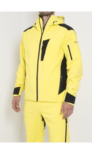 M's Gore-Tex® Swisswool Anorak with Schoeller® Inserts | Yellow