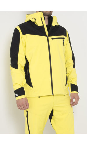 M's Gore-Tex® Wool Anorak with Schoeller® Inserts | Yellow