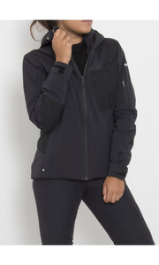 W's Gore-Tex® Swisswool Anorak with Schoeller® Inserts | Black
