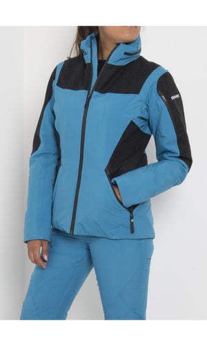 W's Gore-Tex® Swisswool Jacket with Schoeller® Inserts | Blue Petrol