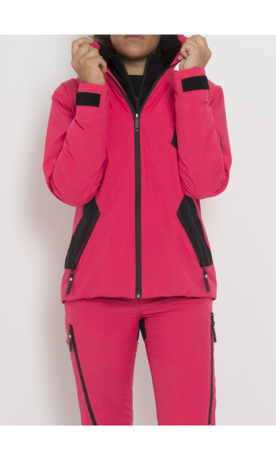 W's Gore-Tex® Wool Anorak with Schoeller® Inserts | Raspberry