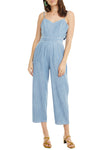 Edie Light Wash Jumpsuit - NIVE GIRL