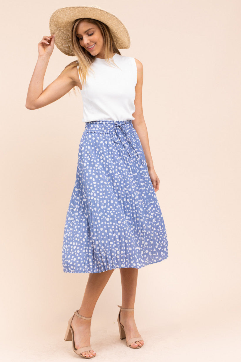 Cherish Periwinkle Skirt - NIVE GIRL