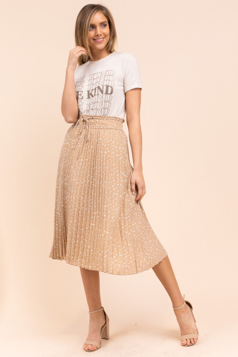 Sienna Nude Skirt - NIVE GIRL