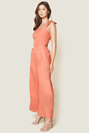 Caterina Cut Out Jumpsuit - NIVE GIRL