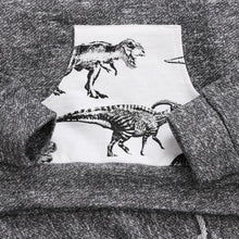 Load image into Gallery viewer, Dino Print Hoodie and Pants Set