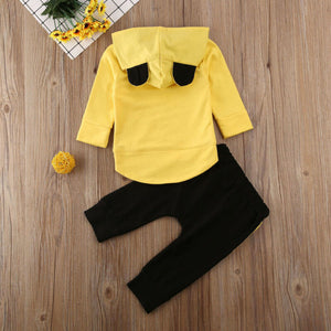 Little Bear Hoodie and Pants Set