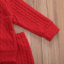 Load image into Gallery viewer, Cozy Cableknit Style Two Piece Set
