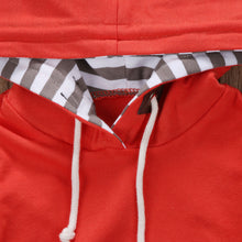 Load image into Gallery viewer, Matching Fall Vibes Striped Hoodie & Pants Set