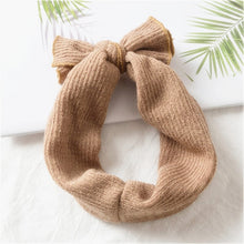 Load image into Gallery viewer, Knitted Bow Headband