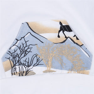 Deer in the Field Hoodie and Pants Set