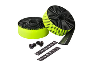 Ciclovation Advanced Bar Tape with Leather Touch - Fusion Series (Neon Yellow) 3620.22324