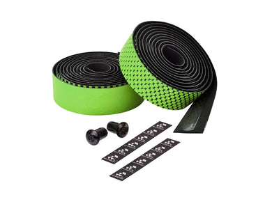 Ciclovation Advanced Bar Tape with Leather Touch - Fusion Series (Green) 3620.22323