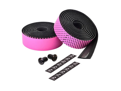 Ciclovation Advanced Bar Tape with Leather Touch - Fusion Series (Pink) 3620.22318