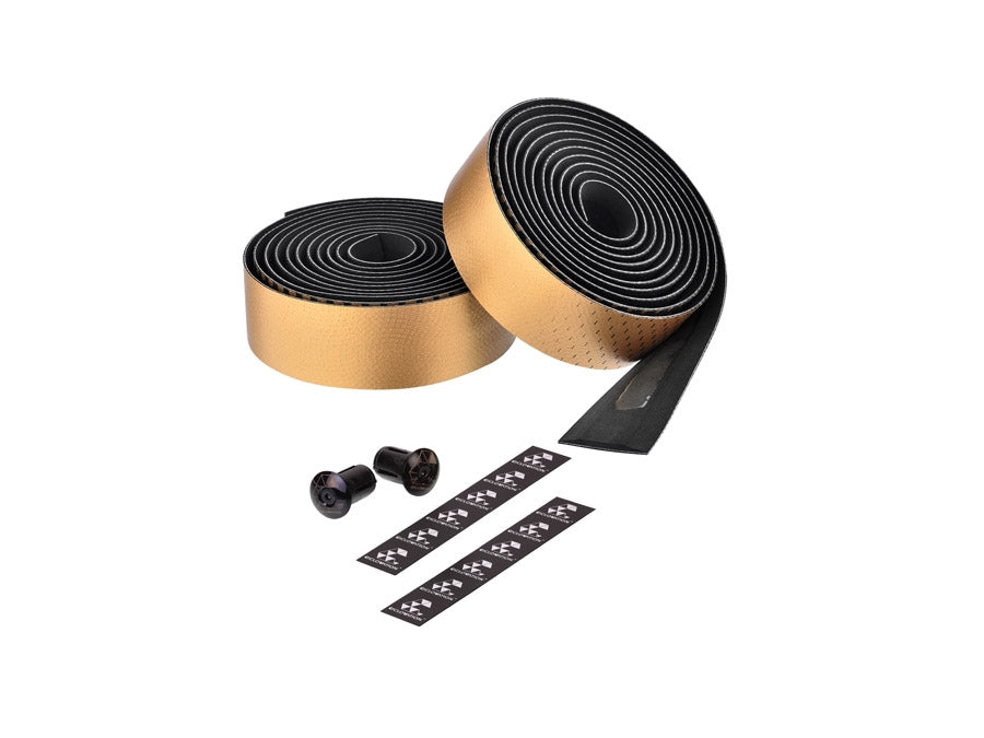 Ciclovation Advanced Bar Tape with Leather Touch - Fusion Series (Metallic Gold) 3620.22315