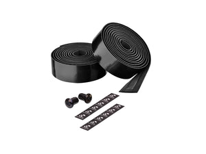 Ciclovation Advanced Bar Tape with Leather Touch - Fusion Series (Black) 3620.22325