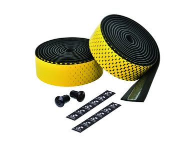 Ciclovation Advanced Bar Tape with Leather Touch - Fusion Series (Yellow) 3620.22327