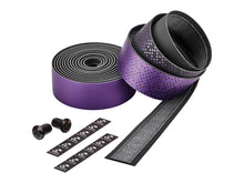 Load image into Gallery viewer, Ciclovation Advanced Bar Tape with Leather Touch - Shining Metalic Purple 3620.22341
