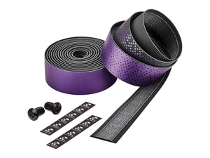 Ciclovation Advanced Bar Tape with Leather Touch - Shining Metalic Purple 3620.22341