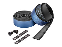 Load image into Gallery viewer, Ciclovation Advanced Bar Tape with Leather Touch - Shining Metalic Blue 3620.22338