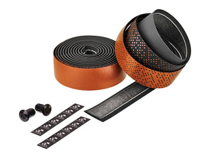Ciclovation Advanced Bar Tape with Leather Touch - Shining Metalic Orange 3620.22339