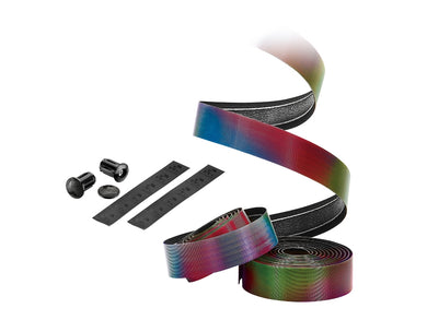 Ciclovation Premium Bar Tape with Halo Touch - Rainbow 3620.26605
