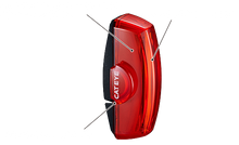 Load image into Gallery viewer, Cateye Rapid X2 LED Rechargeable Rear Light TL-LD710-R
